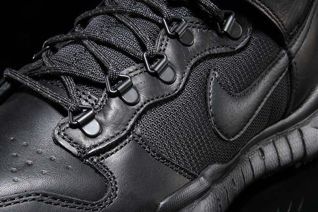 Nike SB Dunk High Boot Triple Black