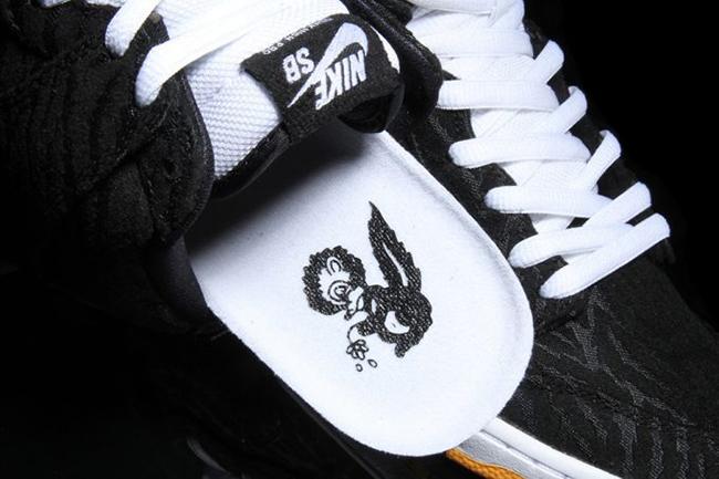 new arrival a0fd7 4ce7f Nike SB Dunk High Skunk Black Laser Orange