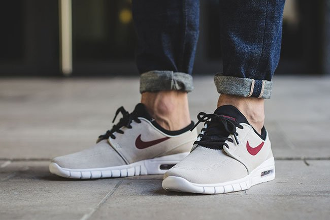 best place half price outlet for sale Nike SB Stefan Janoski Max Suede Light Bone | SneakerFiles