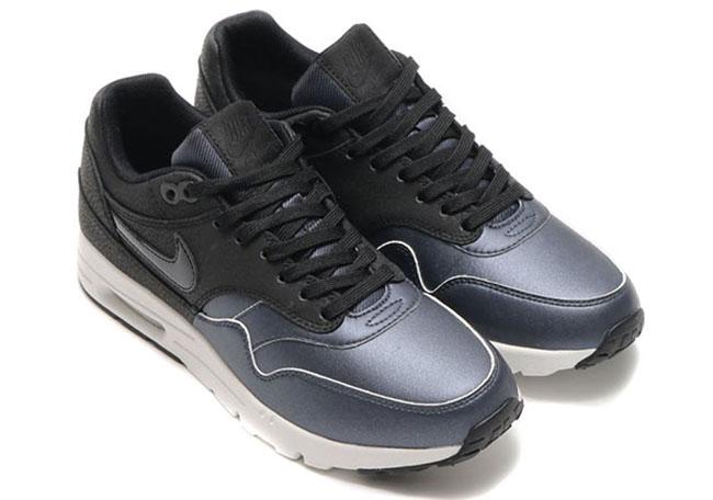 Nike WMNS Air Max 1 Ultra Metallic Toe Black Metallic Hematite