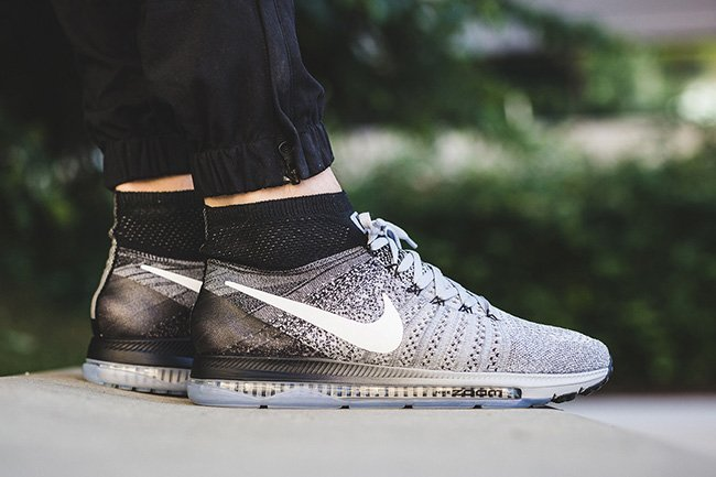 Nike Zoom All Out Flyknit Wolf Grey