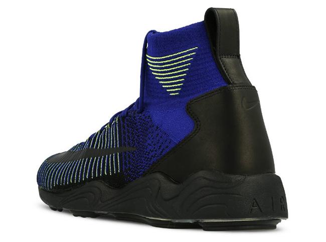 Nike Zoom Mercurial Flyknit Deep Royal Blue Black Volt