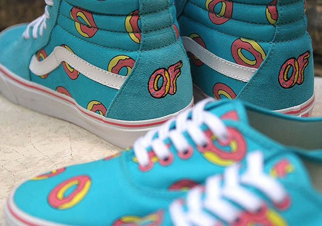 Odd Future Vans Donut SK8-Hi Authentic Release