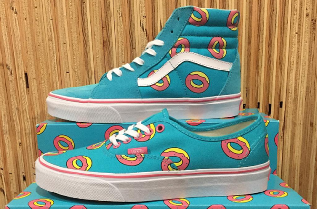 Odd Future Vans SK8-Hi Authentic Donuts