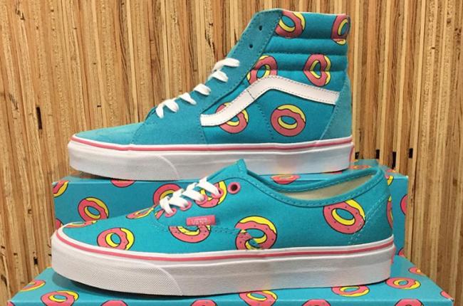 Odd Future Vans SK8-Hi Authentic Donuts