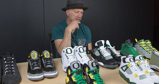 Oregon Air Jordan Collection