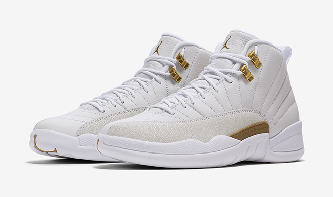 OVO Air Jordan 12 White October 2016