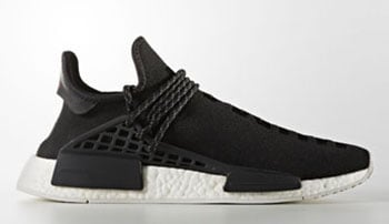 Pharrell adidas NMD HU Human Species Black