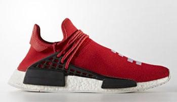 Pharrell adidas NMD Hu Race Scarlet Red