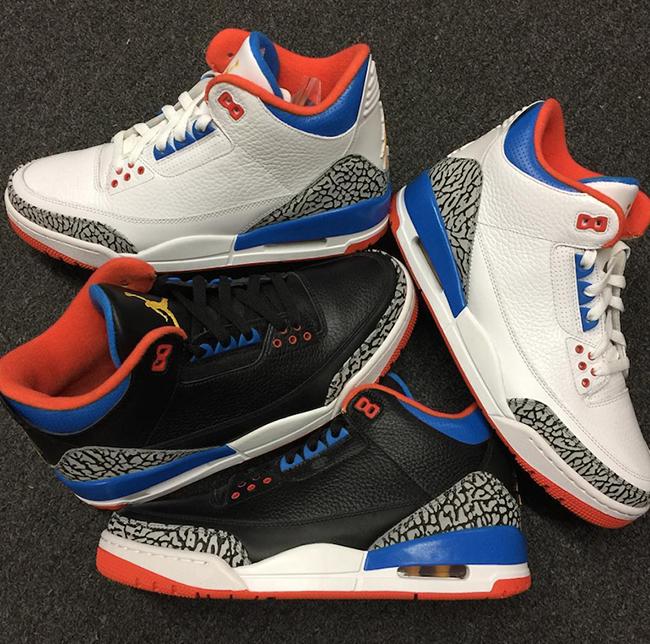 Russell Westbrook Air Jordan 3 Player Exclusives