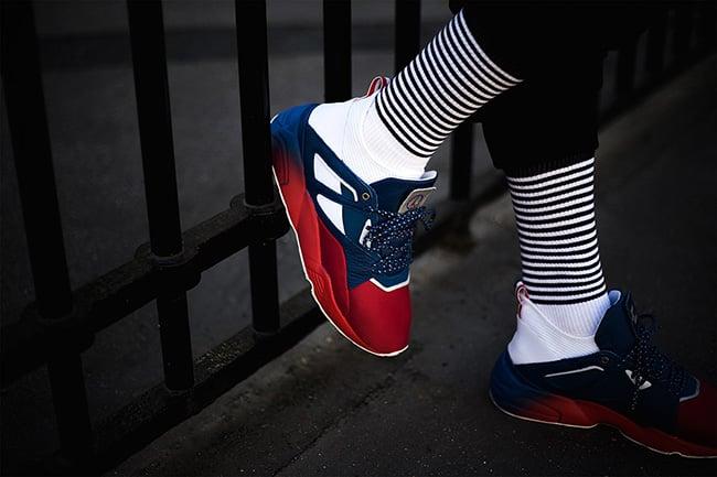 419bb1081946 85%OFF Sneakerness x Puma Blaze of Glory Sock Paris Patriot Pack ...
