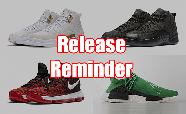 Sneakers Release September 29 October 1 2016