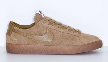 Supreme x Nike SB Blazer Low GT Golden Beige