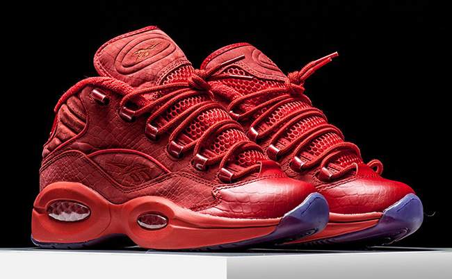Teyana Taylor x Reebok Question Mid Red Release