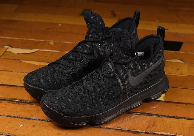 Triple Black Nike KD 9