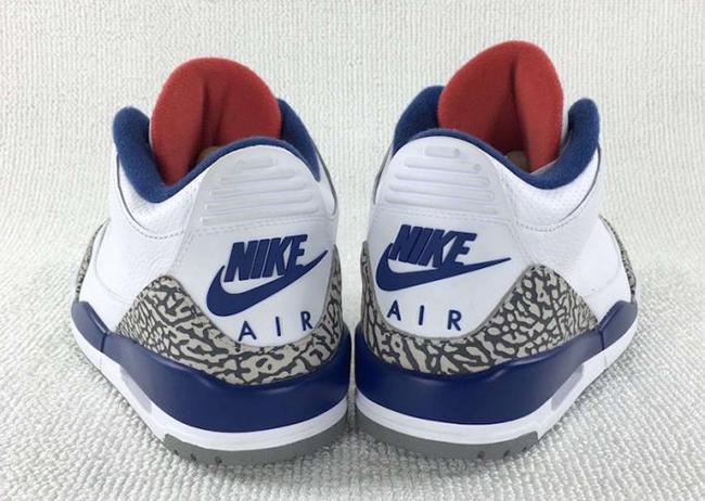 True Blue Air Jordan 3 OG