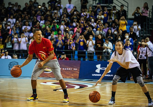 Under Armour Steph Curry 3 Asia Tour 2016