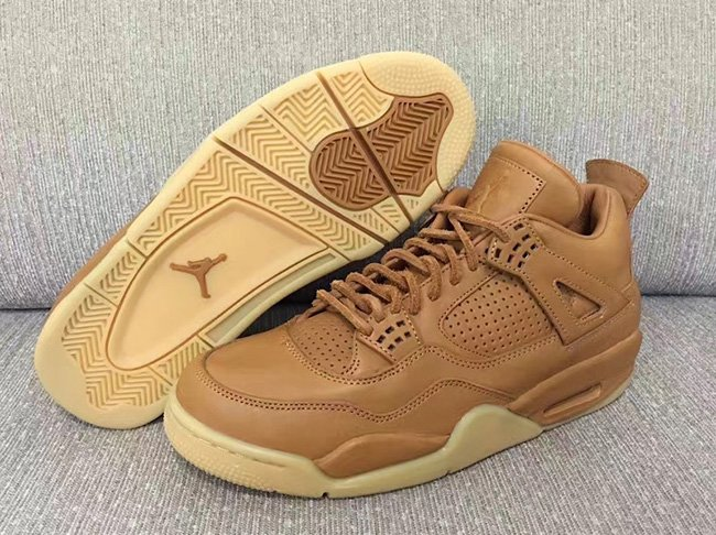 Wheat Air Jordan 4
