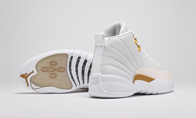 White Air Jordan 12 OVO