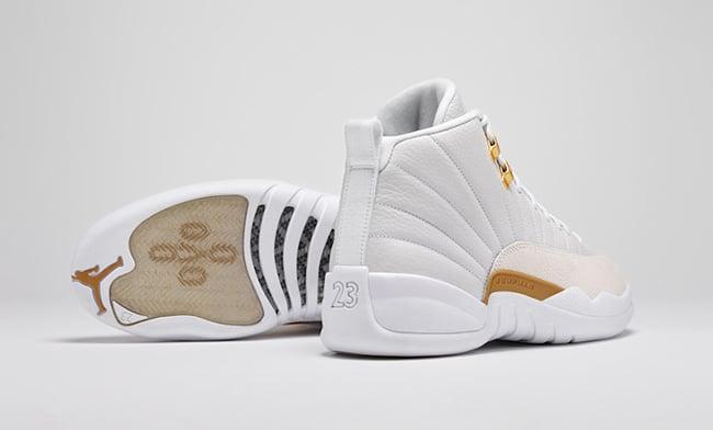 White Air Jordan 12 OVO
