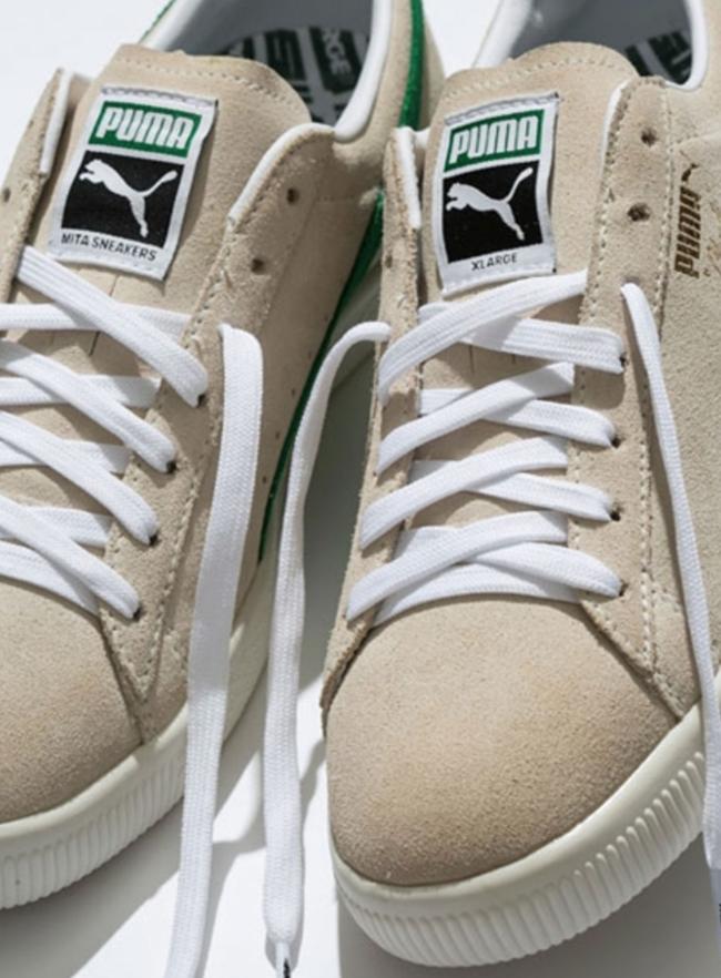 XLARGE X mita sneakers x Puma Clyde