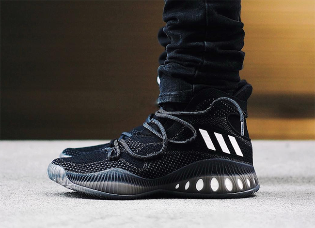 huge discount f5346 05f92 adidas Crazy Explosive Black White