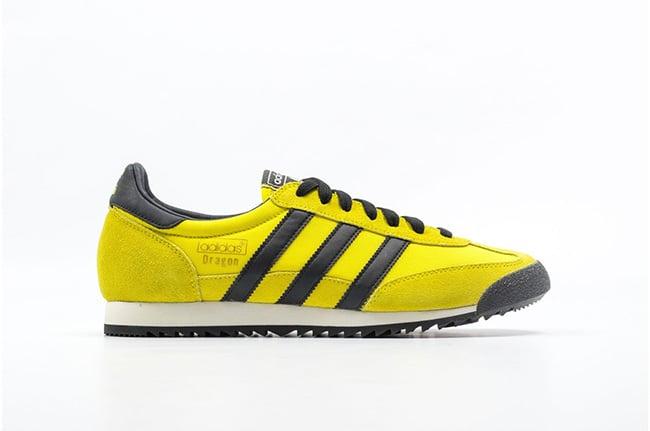 variable Narabar Unión  adidas Dragon Vintage Yellow Black | SneakerFiles