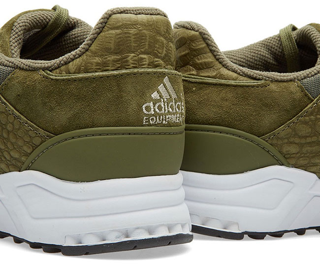 adidas EQT Support 93 Olive Cargo Croc