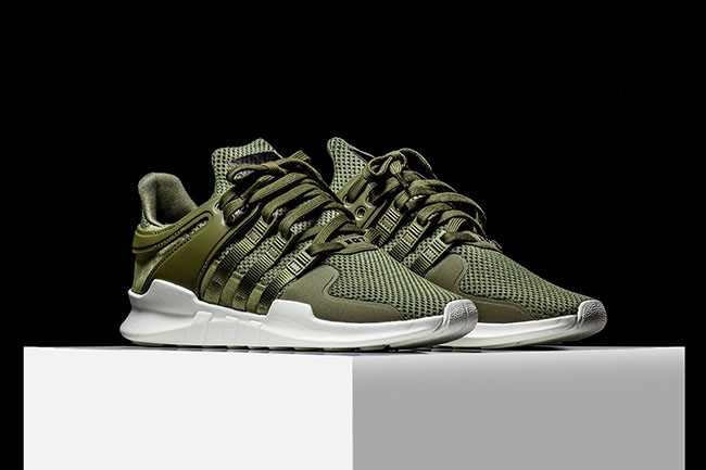 adidas EQT Support ADV Olive   SneakerFiles