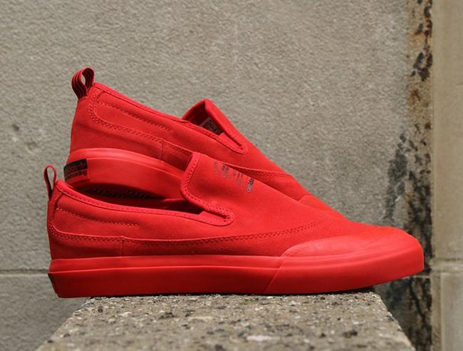 ambiente Orador ácido  adidas Matchcourt Slip-On ADV Scarlett Red | SneakerFiles