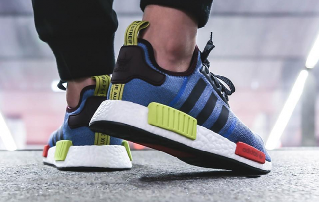 adidas NMD Villa Exclusive Blue Green Red