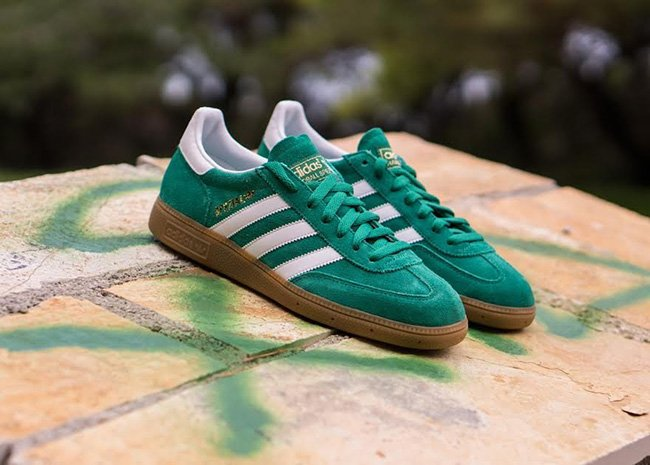 adidas Spezial Bold Green Suede