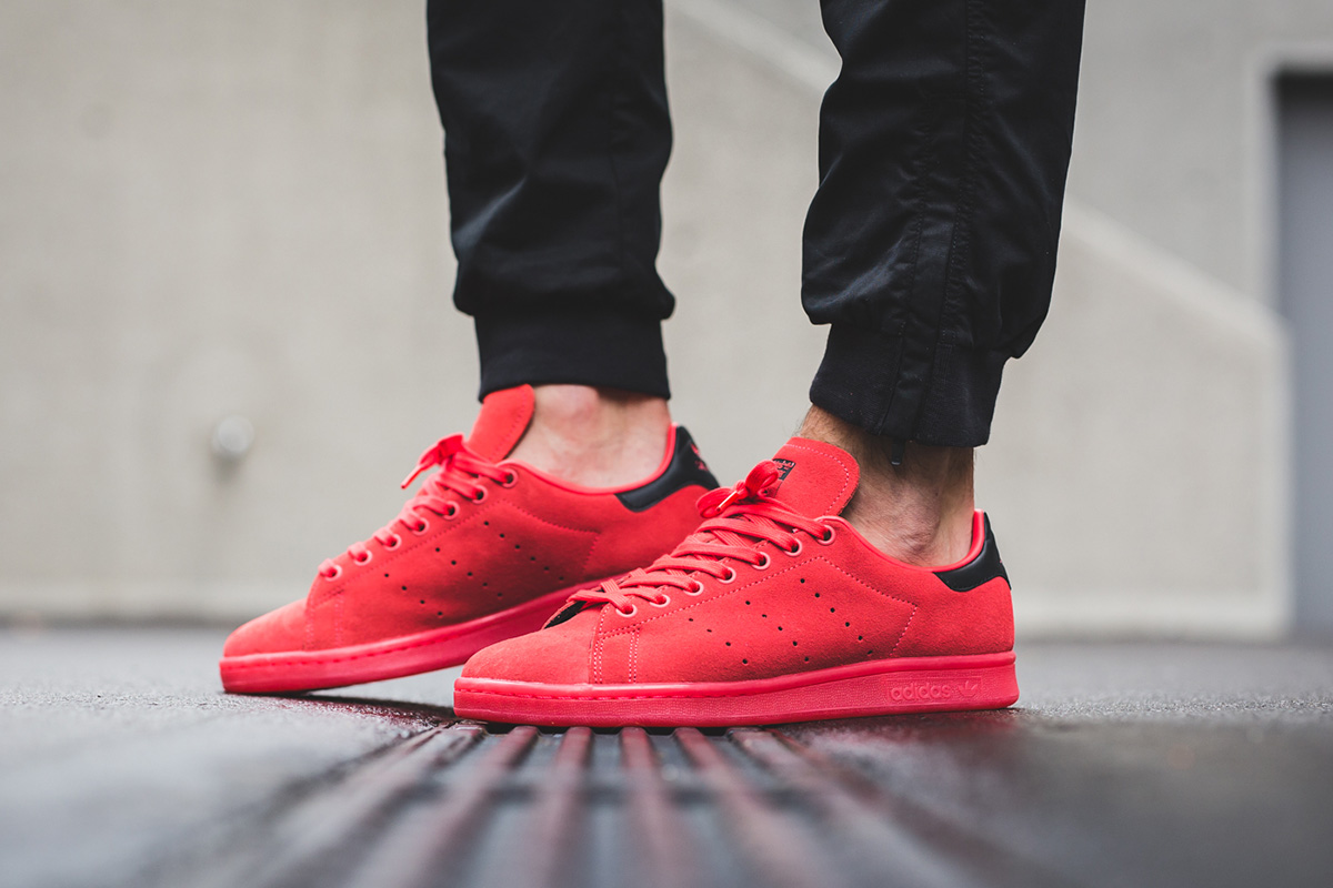adidas Stan Smith Shock Red  a1dcc7d1d80c
