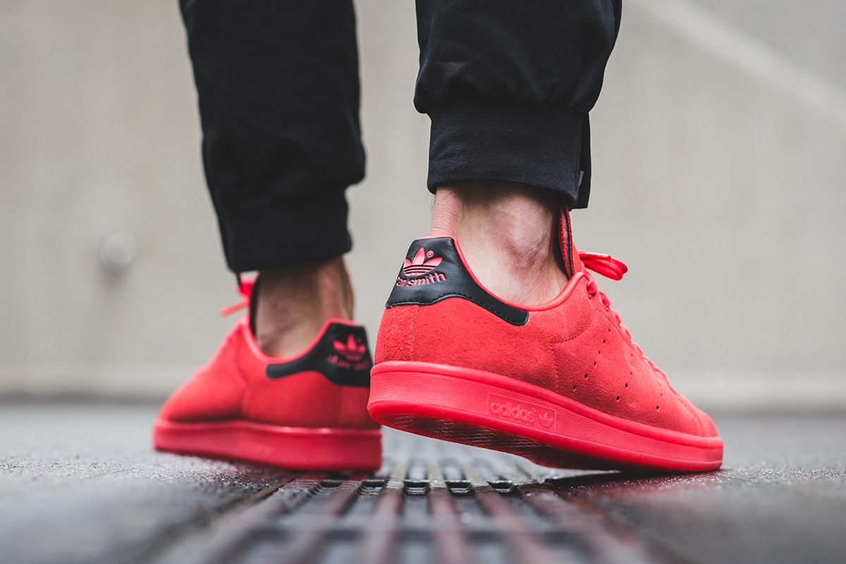 adidas Stan Smith Shock Red