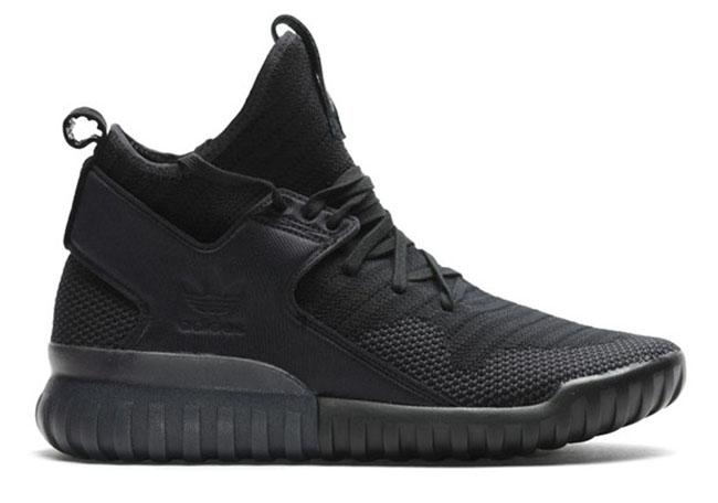 Adidas Tubular X Negro En Los Pies 02TMw4y