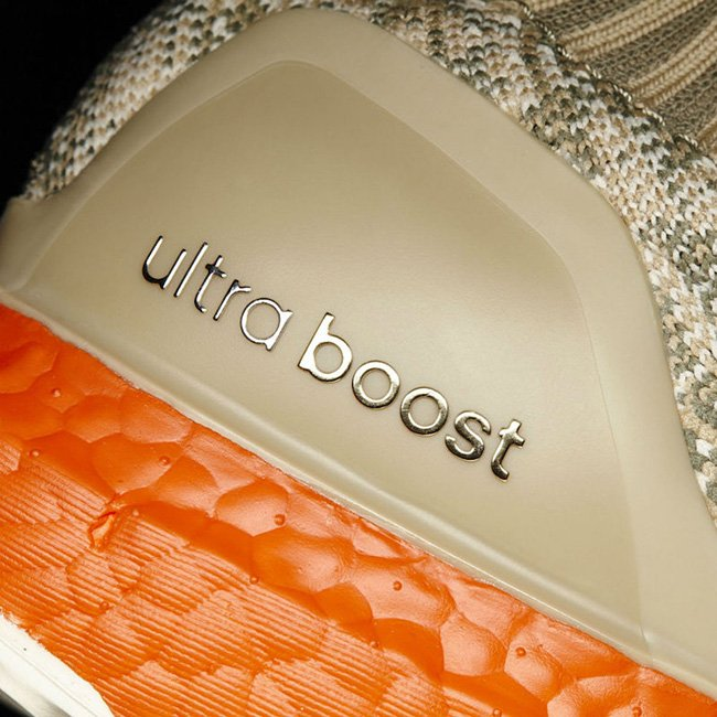 promo code 08c40 d877a adidas Ultra Boost Uncaged Tan Solar Red 2017