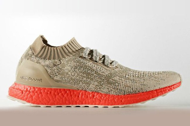 adidas Ultra Boost Uncaged Tan Solar Red 2017