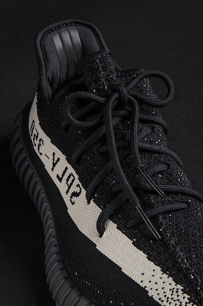 Adidas Yeezy Boost 350 V2 Black And White