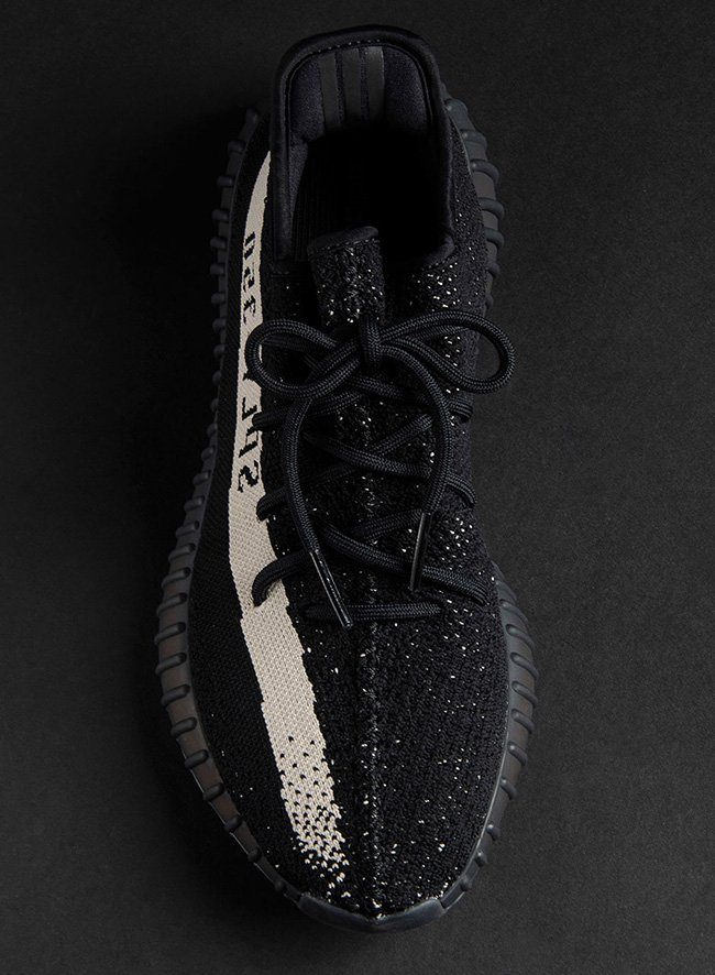 adidas Yeezy Boost 350 V2 Black White December