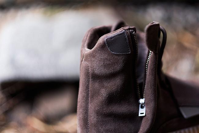 adidas Yeezy Boost 750 Chocolate On Feet
