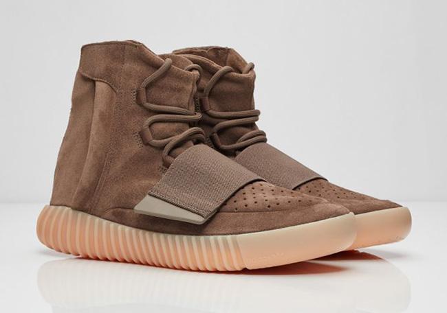 1. adidas yeezy 750 chocolate