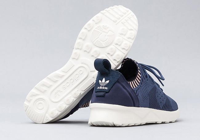 adidas Originals ZX Flux Women's Running Shoes Dark Marine