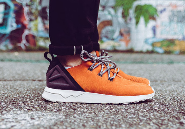 Adidas ZX Flux ADV Asymmetrical Primeknit well wreapped coiffure