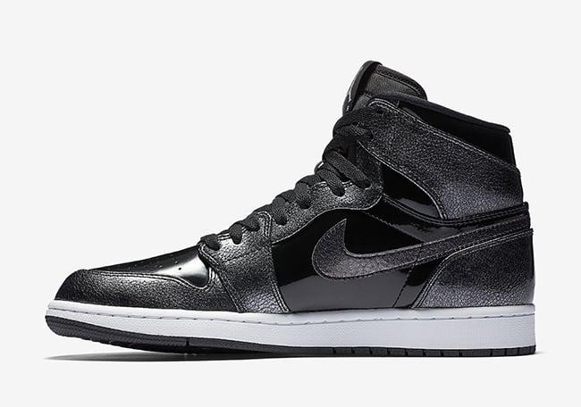 Air Jordan 1 High Black Patent Leather