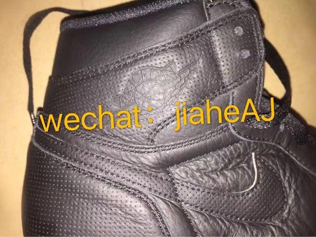 Air Jordan 1 OG Black 2017 Retro