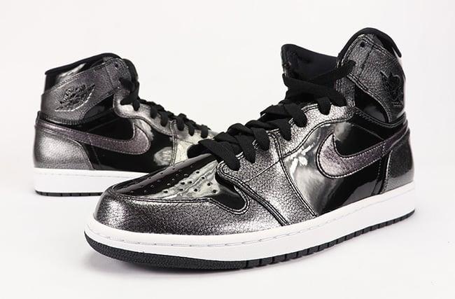 Video: Air Jordan 1 High 'Black Patent Leather'
