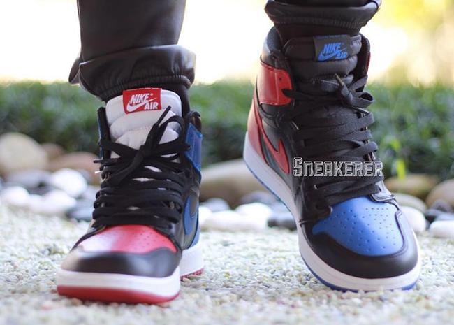 Air Jordan 1 Top 3 On Feet