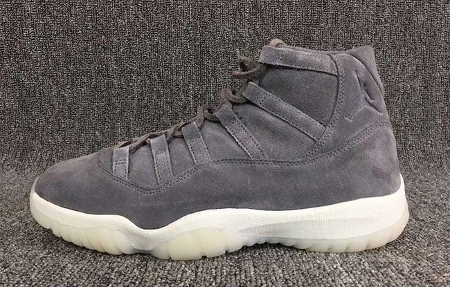 de7538b801e Air Jordan 11 Grey Suede Release Date 914433-003
