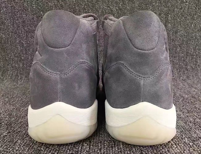 Air Jordan 11 Grey Suede