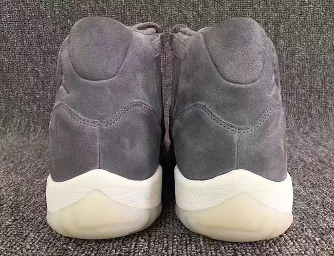 separation shoes 18945 3026f Air Jordan 11 Grey Suede Release Date 914433-003 | SneakerFiles